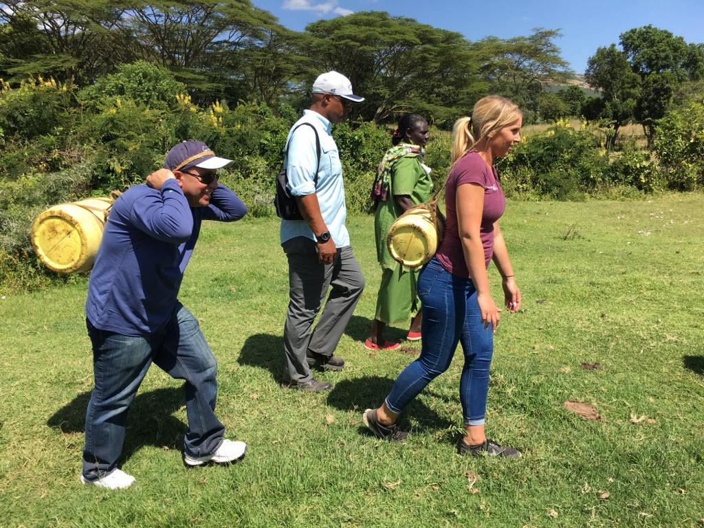 Iris, David Meltzer and Warren waterwalk Kenya 6.16 v2