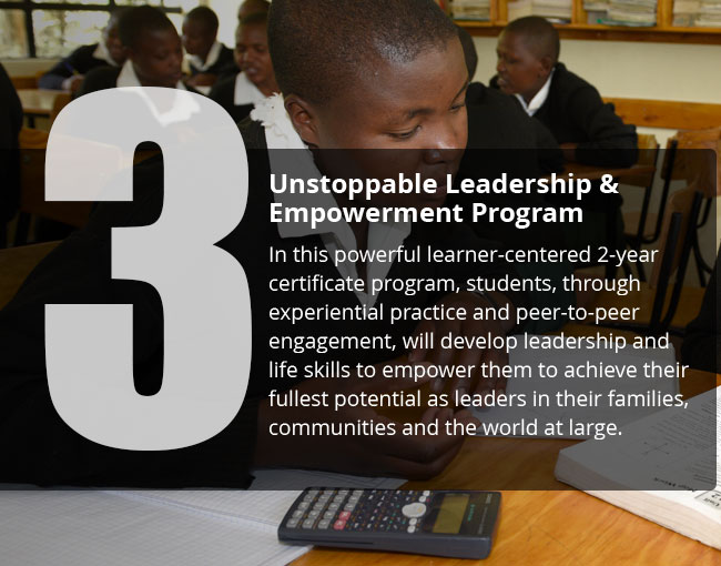 Unstoppable Leadership and Empowerment Program