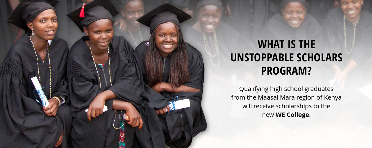 What is the Unstoppable Scholars program?