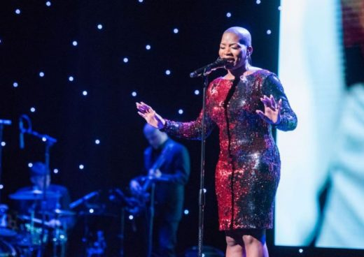 Janice Freeman Singing at the Unstoppable Gala