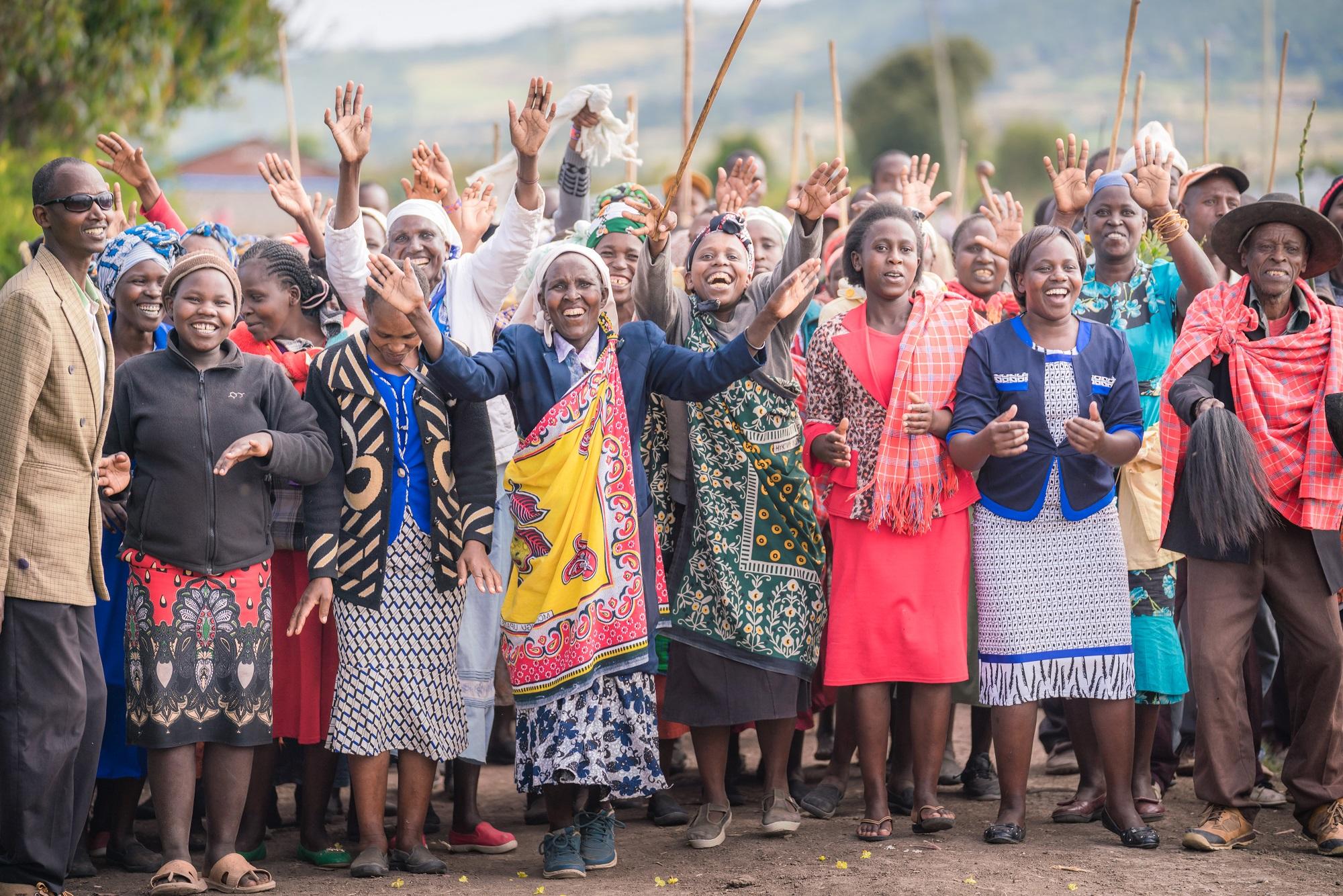 Community Members in Kenya