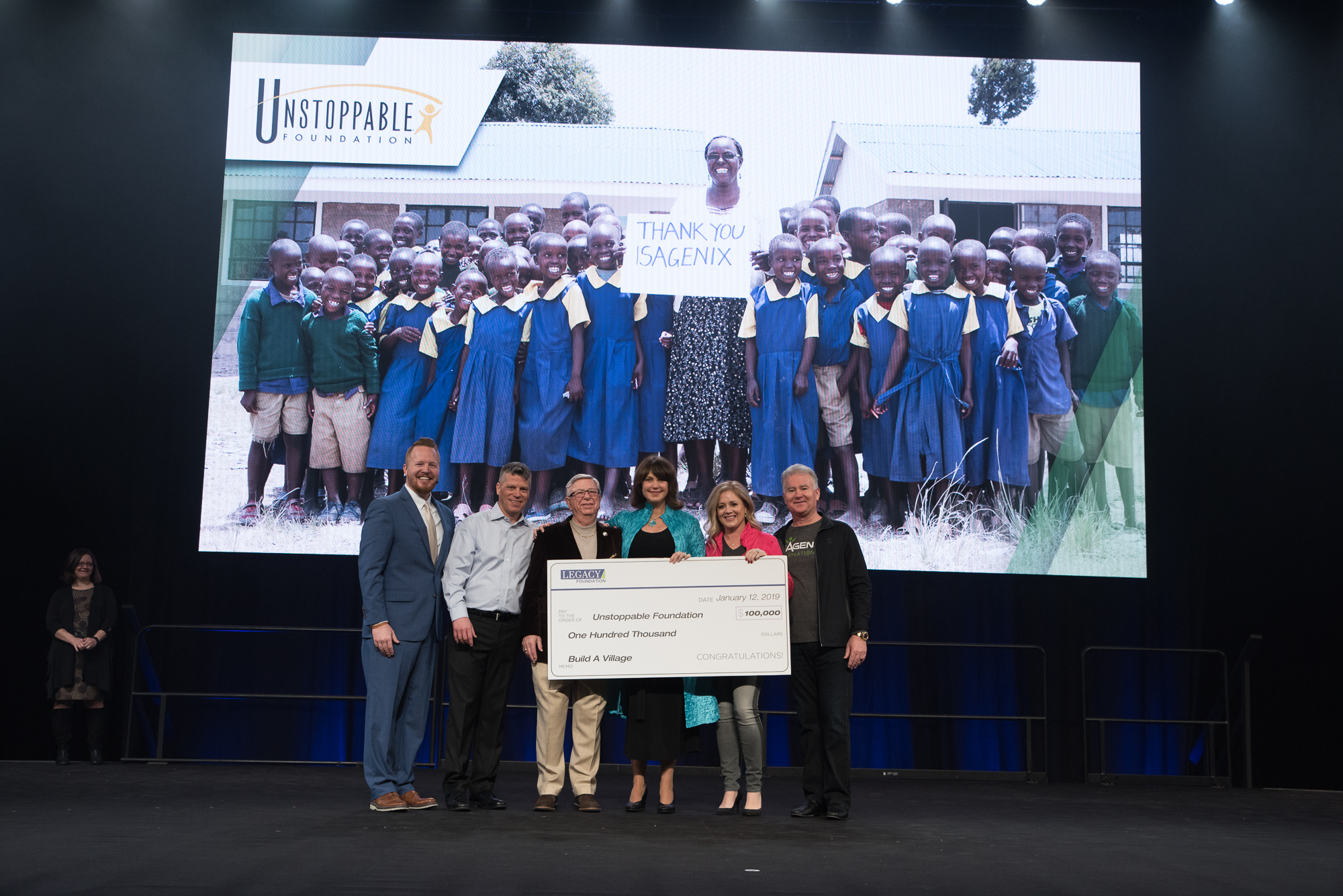 Isagenix Awards Unstoppable Foundation Grant